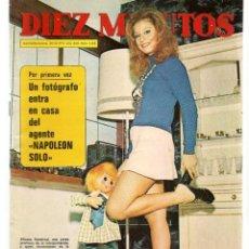 Coleccionismo de Revista Diez Minutos: DIEZ MINUTOS. Nº 1105. POSTERS: JAMES FARENTINO/ BEATRIZ VILLASANTE. 28 OCTUBRE 1972.(P/B71). Lote 155998846