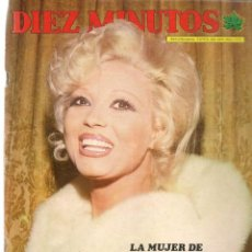 Coleccionismo de Revista Diez Minutos: DIEZ MINUTOS. Nº 1175. POSTERS: PERET / ROSA MORENA. 2 MARZO 1974.(P/B71). Lote 156205338