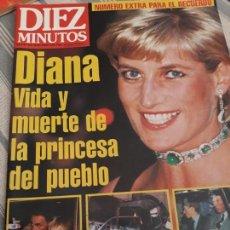 Coleccionismo de Revista Diez Minutos: 12/9/97. DIANA VIDA Y MUERTE DE LA PRINCESA DEL PUEBLO.. Lote 156614290
