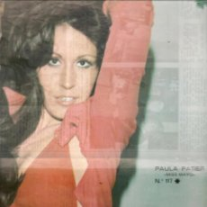 Coleccionismo de Revista Diez Minutos: DIEZ MINUTOS. POSTER: PAULA PATIER. Nº 117. (P/B78). Lote 156726942