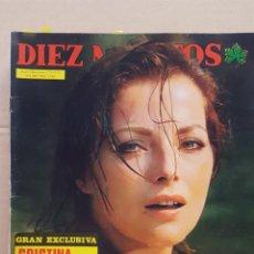 Coleccionismo de Revista Diez Minutos: REVISTA DIEZ MINUTOS. NUM. 1238. 17 MAYO 1975.- CRISTINA ONASSIS. VIRNA LISI. MARUJA DIAZ. ISABEL . Lote 156868786