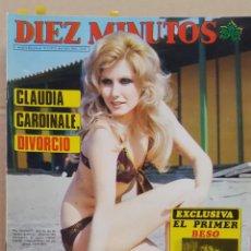 Coleccionismo de Revista Diez Minutos: REVISTA DIEZ MINUTOS. NUM. 1240. 31 MAYO 1975.- CLAUDIA CARDINALE. PIA GIANCARLO. FESTIVAL CANNES 75. Lote 156869462
