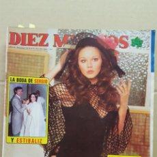 Coleccionismo de Revista Diez Minutos: REVISTA DIEZ MINUTOS. NUM. 1269. 20 DICIEMBRE 1975.- BODA DE SERGIO Y ESTIBALIZ. AGOSTINA BELLI.. Lote 156874122