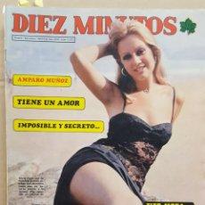 Coleccionismo de Revista Diez Minutos: REVISTA DIEZ MINUTOS. NUM. 1272. 10 ENERO 1976.- AMPARO MUÑOZ. TITO MORA. MARIA KOSTI. Lote 156874830