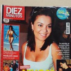 Coleccionismo de Revista Diez Minutos: REVISTA DIEZ MINUTOS.- NUM. 2868. 9 AGOSTO 2006.- MARIA JOSE CAMPANARIO.- PENELOPE CRUZ. Lote 156877462