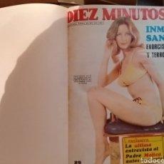 Coleccionismo de Revista Diez Minutos: COMPILACIÓN ENCUADERNADA DE 10 EJEMPLARES DE LA REVISTA DIEZ MINUTOS. Lote 157346516