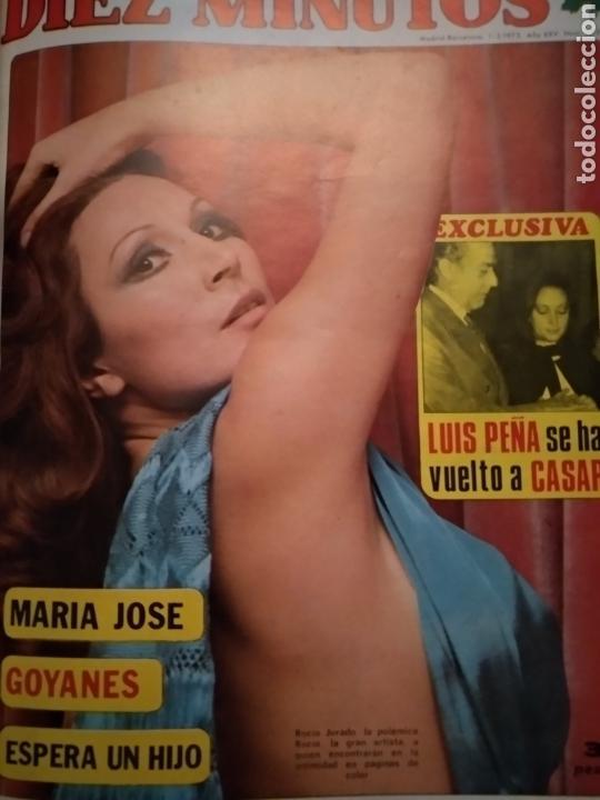 Coleccionismo de Revista Diez Minutos: COMPILACIÓN ENCUADERNADA DE 10 EJEMPLARES DE LA REVISTA 10 MINUTOS - Foto 2 - 157506109