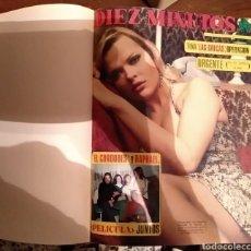 Coleccionismo de Revista Diez Minutos: COMPILACIÓN ENCUADERNADA DE 10 EJEMPLARES DE LA REVISTA 10 MINUTOS. Lote 157506109