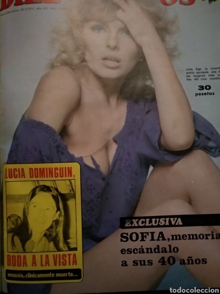 Coleccionismo de Revista Diez Minutos: COMPILACIÓN ENCUADERNADA DE 10 EJEMPLARES DE LA REVISTA 10 MINUTOS - Foto 5 - 157506109