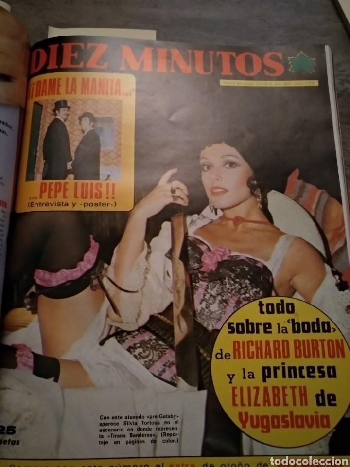 Coleccionismo de Revista Diez Minutos: COMPILACIÓN ENCUADERNADA DE 10 EJEMPLARES DE LA REVISTA DIEZ MINUTOS - Foto 5 - 157346516