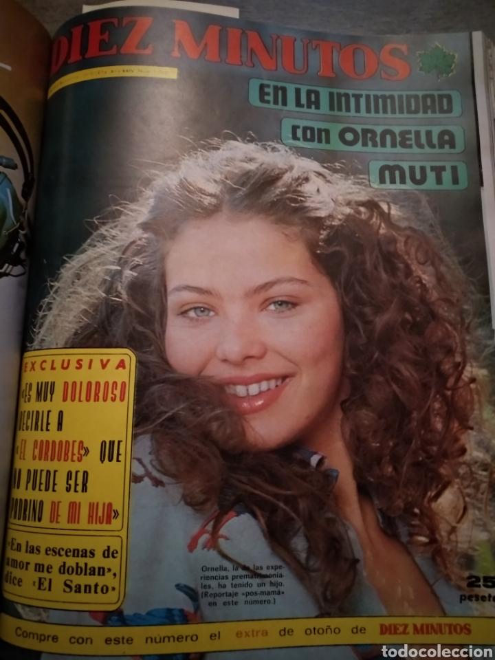 Coleccionismo de Revista Diez Minutos: COMPILACIÓN ENCUADERNADA DE 10 EJEMPLARES DE LA REVISTA DIEZ MINUTOS - Foto 7 - 157346516