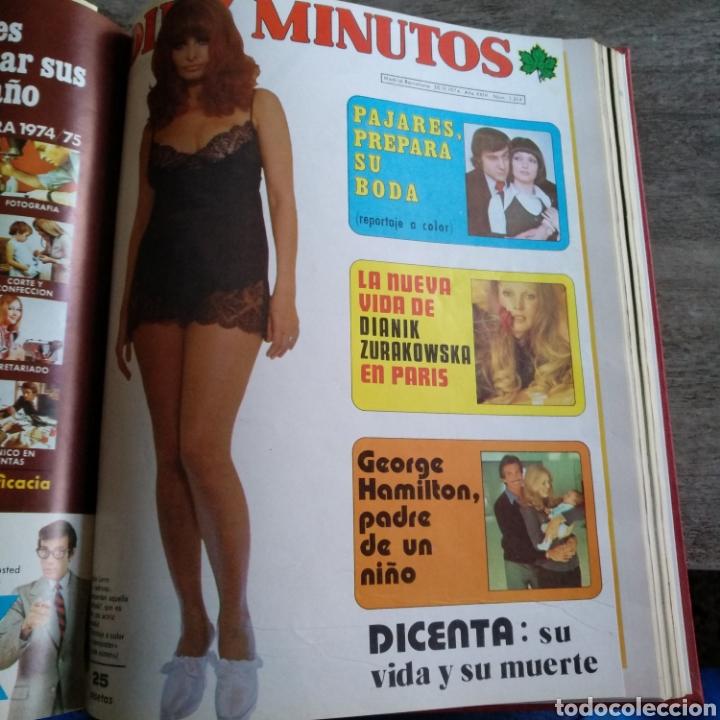 Coleccionismo de Revista Diez Minutos: COMPILACIÓN ENCUADERNADA DE 10 EJEMPLARES DE LA REVISTA DIEZ MINUTOS - Foto 9 - 157346516