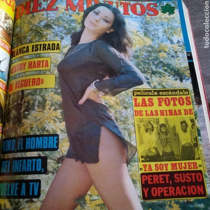 Coleccionismo de Revista Diez Minutos: COMPILACIÓN ENCUADERNADA DE 10 EJEMPLARES DE LA REVISTA DIEZ MINUTOS - Foto 7 - 157721549