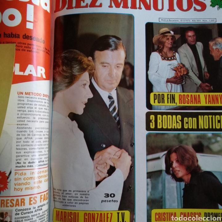 Coleccionismo de Revista Diez Minutos: COMPILACIÓN ENCUADERNADA DE 10 EJEMPLARES DE LA REVISTA DIEZ MINUTOS - Foto 2 - 157721549