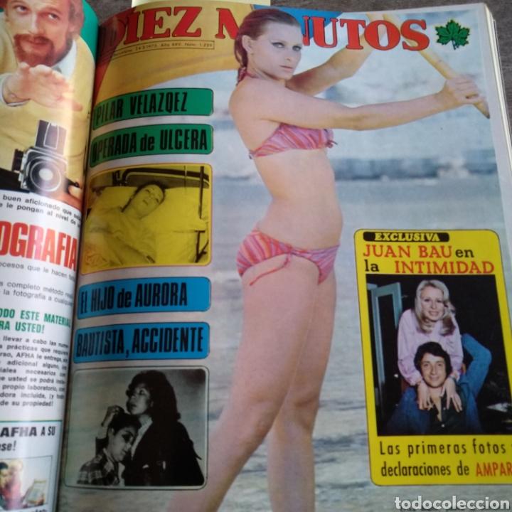 Coleccionismo de Revista Diez Minutos: COMPILACIÓN ENCUADERNADA DE 10 EJEMPLARES DE LA REVISTA DIEZ MINUTOS - Foto 4 - 157721549