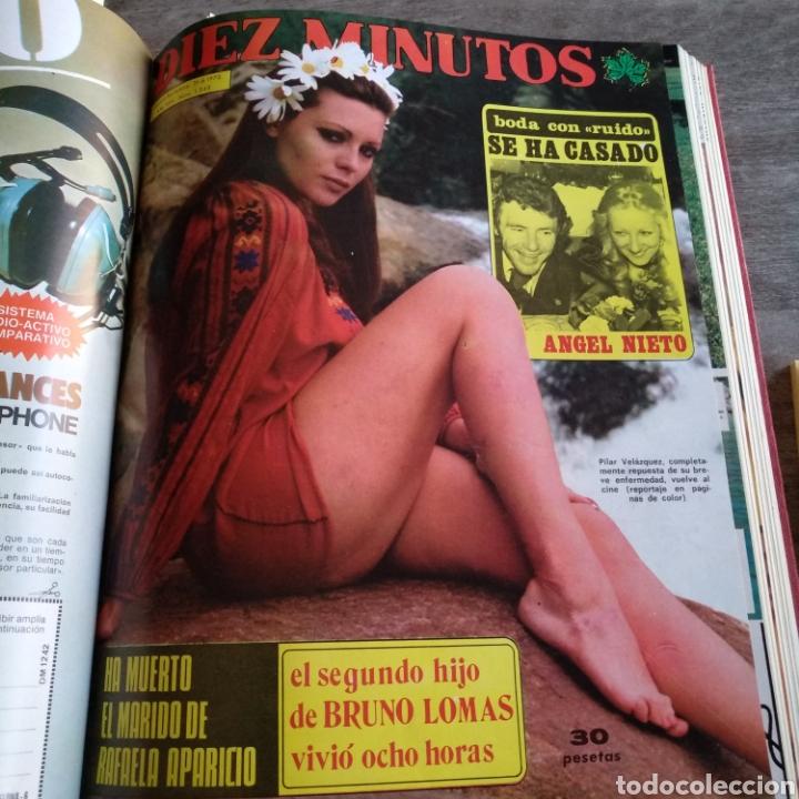 Coleccionismo de Revista Diez Minutos: COMPILACIÓN ENCUADERNADA DE 10 EJEMPLARES DE LA REVISTA DIEZ MINUTOS - Foto 8 - 157721549