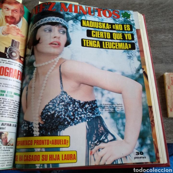 Coleccionismo de Revista Diez Minutos: COMPILACIÓN ENCUADERNADA DE 10 EJEMPLARES DE LA REVISTA DIEZ MINUTOS - Foto 9 - 157721549