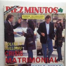 Coleccionismo de Revista Diez Minutos: DIEZ MINUTOS NÚMERO 1968 AÑO 1989. Lote 157902310