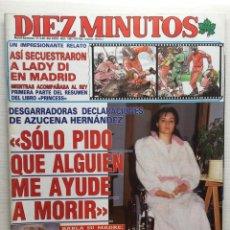 Coleccionismo de Revista Diez Minutos: DIEZ MINUTOS NÚMERO 1961 AÑO 1989. Lote 157902822