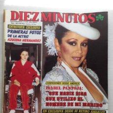 Coleccionismo de Revista Diez Minutos: DIEZ MINUTOS NÚMERO 1861 AÑO 1987 ISABEL PANTOJA LOLA FLORES. Lote 157904474