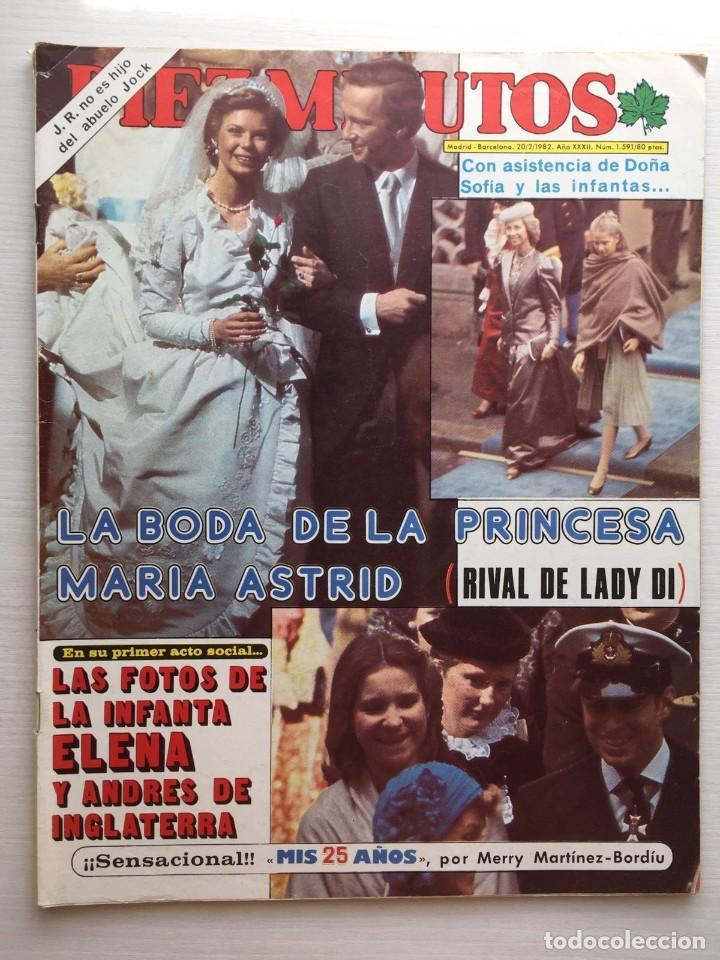 DIEZ MINUTOS NÚMERO 1591 AÑO 1982 (Coleccionismo - Revistas y Periódicos Modernos (a partir de 1.940) - Revista Diez Minutos)