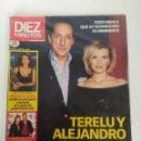 Coleccionismo de Revista Diez Minutos: REVISTA DIEZ MINUTOS, FEBRERO DEL AÑO 2003, TERELU CAMPOS, PAULA VAZQUEZ. Lote 158915030