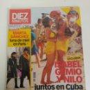 Coleccionismo de Revista Diez Minutos: REVISTA DIEZ MINUTOS, ENERO DEL AÑO 2003, ISABEL GEMIO, MARTA SANCHEZ. Lote 158915146