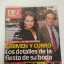 Coleccionismo de Revista Diez Minutos: REVISTA DIEZ MINUTOS, MARZO DEL AÑO 2003, CURRO ROMERO. Lote 158915230