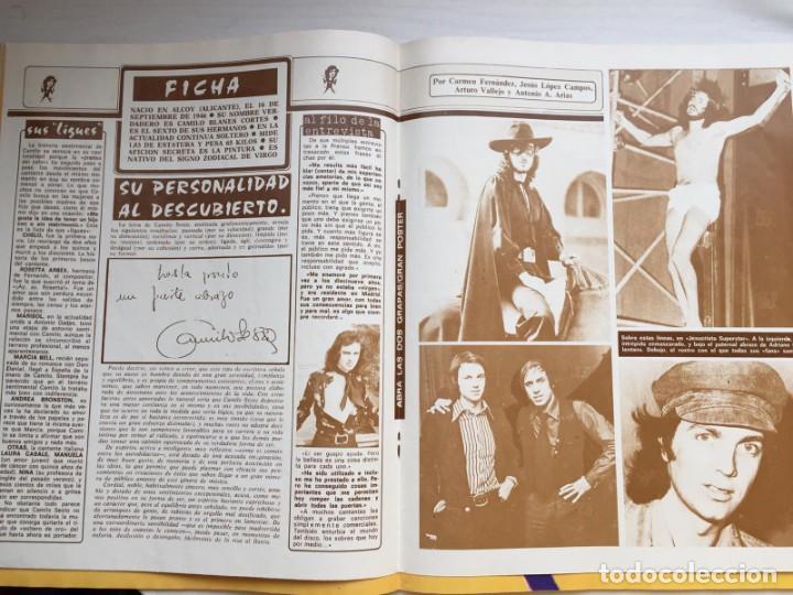 Coleccionismo de Revista Diez Minutos: DIEZ MINUTOS Nº 1491 POSTER GIGANTE CAMILO SESTO / MARIA JIMENEZ / MARIA JOSE CANTUDO - Foto 3 - 160573598