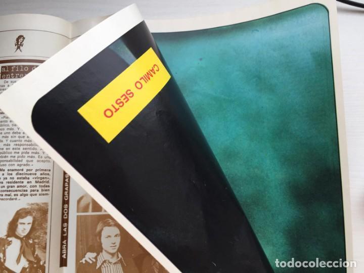Coleccionismo de Revista Diez Minutos: DIEZ MINUTOS Nº 1491 POSTER GIGANTE CAMILO SESTO / MARIA JIMENEZ / MARIA JOSE CANTUDO - Foto 4 - 160573598