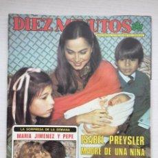 Coleccionismo de Revista Diez Minutos: DIEZ MINUTOS Nº 1580 ISABEL PREYSLER MARIA JIMENEZ JULIO IGLESIAS CARMEN SEVILLA. Lote 160584202