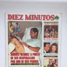 Coleccionismo de Revista Diez Minutos: DIEZ MINUTOS Nº 1569 BARBARA REY JULIO IGLESIAS CARMEN MAURA POSTER VICTORIA PRINCIPAL . Lote 160585958