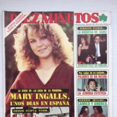 Colecionismo da Revista Diez Minutos: DIEZ MINUTOS Nº 1477 MARY INGALLS CAMILO SESTO PAJARES / POSTER SOFIA LOREN Y QUADROPHENIA. Lote 160586438