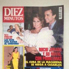 Coleccionismo de Revista Diez Minutos: DIEZ MINUTOS 2245 ROCIO JURADO CORDOBES MARTA SANCHEZ . Lote 160673038