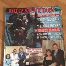 Coleccionismo de Revista Diez Minutos: DIEZ MINUTOS 1900 - KARINA - SILVIA TORTOSA. Lote 161861565