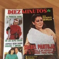 Coleccionismo de Revista Diez Minutos: DIEZ MINUTOS 1800 - ISABEL PANTOJA - ROCIO JURADO. Lote 161861614