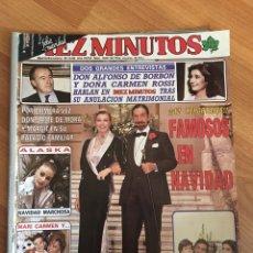 Coleccionismo de Revista Diez Minutos: DIEZ MINUTOS 1845 - ALASKA - ENCARNA SANCHEZ - LOLA FLORES. Lote 161861700
