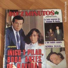 Coleccionismo de Revista Diez Minutos: DIEZ MINUTOS- 1738- ISABEL PANTOJA - NORMA DUVAL. Lote 161861870
