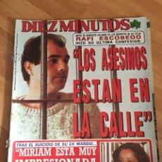 Coleccionismo de Revista Diez Minutos: DIEZ MINUTOS 1929 - MIRIAN DE LA SIERRA - ROCIO JURADO. Lote 161862086