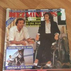 Coleccionismo de Revista Diez Minutos: DIEZ MINUTOS 1935 - JULIO IGLESIAS - CONCHA PIQUER. Lote 161862189