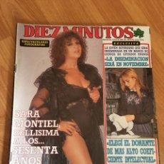 Coleccionismo de Revista Diez Minutos: DIEZ MINUTOS 1939 - SARA MONTIEL. Lote 161866634
