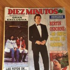 Coleccionismo de Revista Diez Minutos: DIEZ MINUTOS 1847 -LOLA FLORES - MARÍA JIMENEZ - BERTIN OSBORNE. Lote 161871226