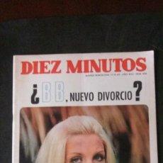 Coleccionismo de Revista Diez Minutos: DIEZ MINUTOS 1968-PATTY PRAVO-EQUIPE 84-MASSIEL-ANUNCIO VESPA-SUPERMAN-INGRID GARBO-MISS MUNDO. Lote 164930950