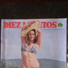 Coleccionismo de Revista Diez Minutos: NENE MORALES-MARISOL-MARISA MELL-EL LUTE-MIGUEL BOSE-LA POCHA-. Lote 164949506