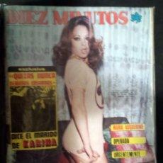 Coleccionismo de Revista Diez Minutos: REVISTA DIEZ MINUTOS - AÑO 1975. Lote 166751014