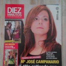 Coleccionismo de Revista Diez Minutos: REVISTA DIEZ MINUTOS 3134. Lote 167119276