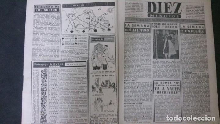 Coleccionismo de Revista Diez Minutos: DIEZ MINUTOS Nº 80-1953 - Foto 2 - 168735308
