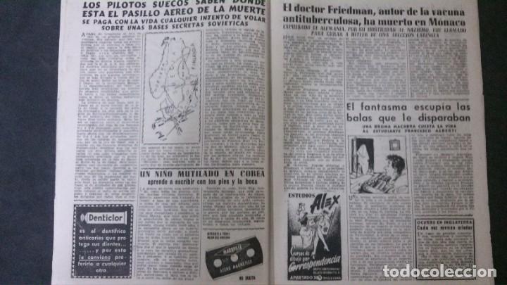 Coleccionismo de Revista Diez Minutos: DIEZ MINUTOS Nº 80-1953 - Foto 5 - 168735308