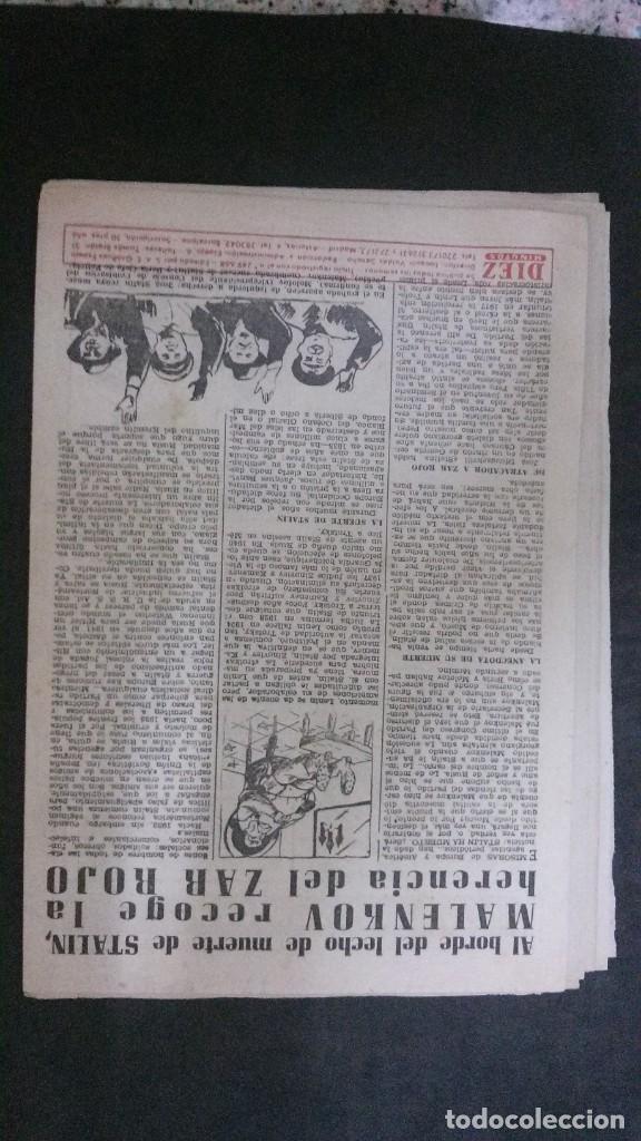 Coleccionismo de Revista Diez Minutos: DIEZ MINUTOS Nº 80-1953 - Foto 11 - 168735308