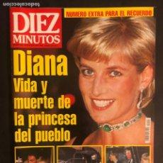 Coleccionismo de Revista Diez Minutos: DIEZ MINUTOS N°2403 (1997). MUERTE DE LADY DI. NÚMERO EXTRA PARA EL RECUERDO.. Lote 168758813